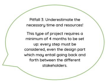 pitfall 3: necessary time and resources underestimated for your teas and infusions project launching