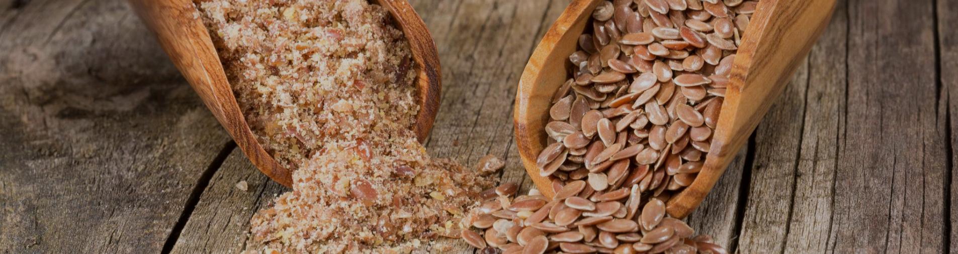 les atouts de la poudre de graine de lin débactérisée Natural Origins