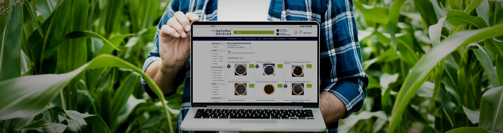 Discover the new Herbal and Teas segmentation product range on mynaturalorigins.store e-platform